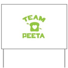 HG Team Peeta Yard Sign