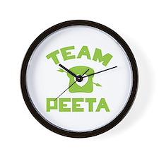 HG Team Peeta Wall Clock