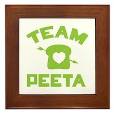 HG Team Peeta Framed Tile