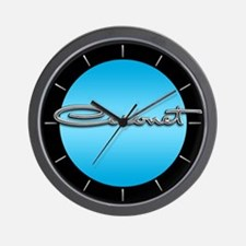 Coronet Emblem Wall Clock