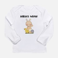 Personalized Baby Boy Easter Long Sleeve Infant T-