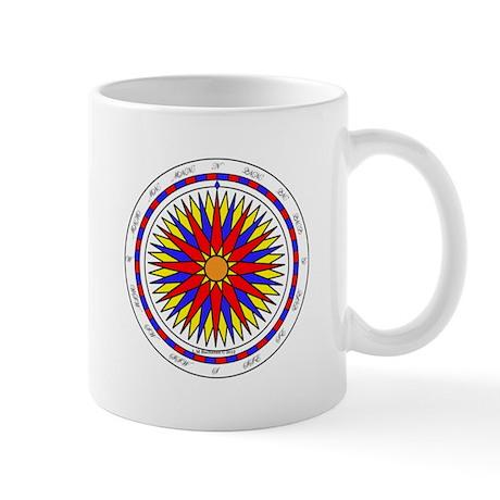 Mariner's Sunrise Compass Rose Mug