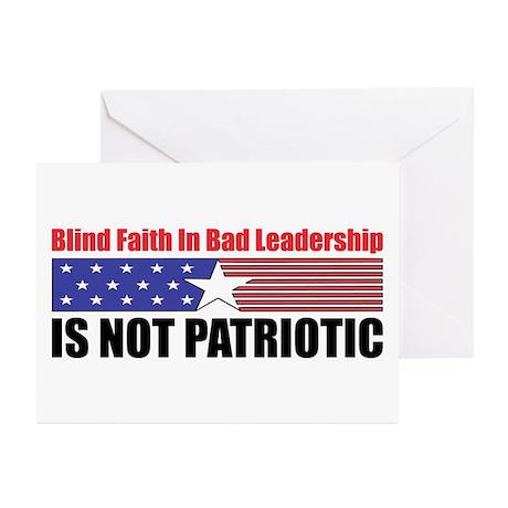 Blind Faith Greeting Cards (Pk of 10)