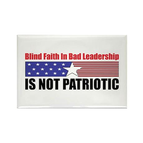 Blind Faith Rectangle Magnet (100 pack)