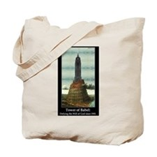 """Tower of Babel"" Tote Bag"