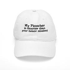 Honor Student: My Pinscher Baseball Cap
