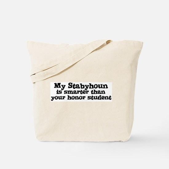 Honor Student: My Stabyhoun Tote Bag