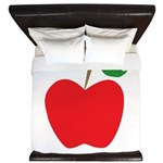 Red Apple King Duvet