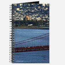 Gifts! Aerial GG Exploratorium Travel Journal