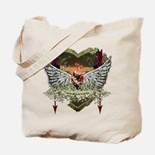Hunger Games Fly My Heart Home Tote Bag