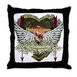 Hunger games pillow Throw Pillows