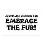 Australian Shepherd Dog Postcards (Package of 8)