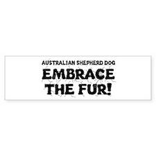 Australian Shepherd Dog Bumper Bumper Sticker