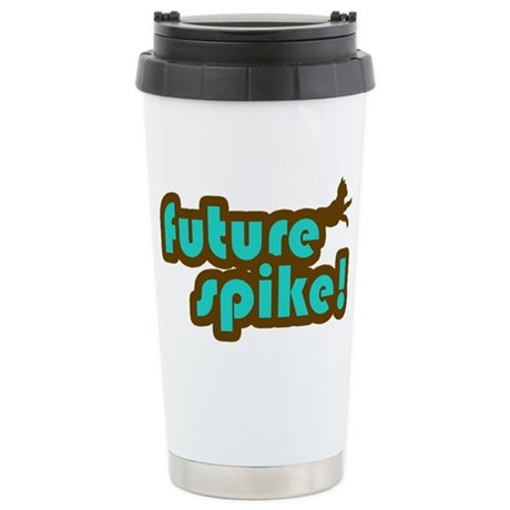 Future Spike Stainless Steel Travel Mug