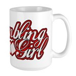 Gambling Girl Large Mug