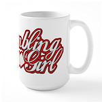 Gambling Girl Large Mug