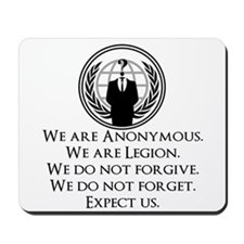 We are Anonymous Mousepad