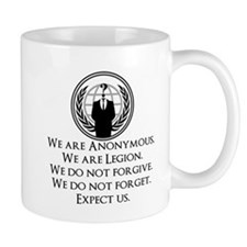 We are Anonymous Mug
