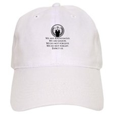 We are Anonymous Baseball Baseball Cap