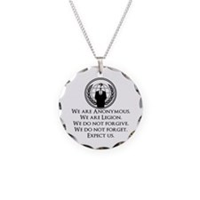 We are Anonymous Necklace