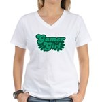 Gamer Girl Women's V-Neck T-Shirt