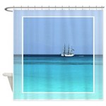 Coast Guard Cutter Shower Curtain