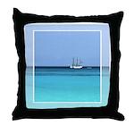 Coast Guard Cutter Throw Pillow
