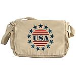 USA! Messenger Bag