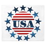 USA! King Duvet
