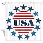 USA! Shower Curtain
