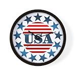 USA! Wall Clock