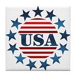 USA! Tile Coaster