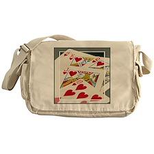 Royal Flush Messenger Bag