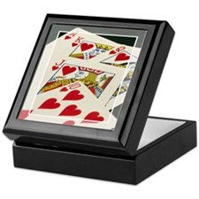 Royal Flush Keepsake Box