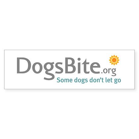White Bumper Sticker 10-Pack - DogsBite.org