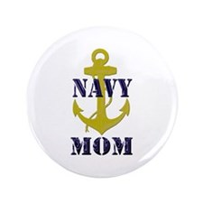 "Navy Mom 3.5"" Button"