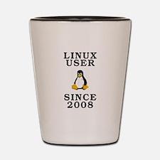 Linux user since 2008 - Shot Glass