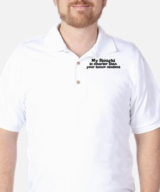 Honor Student: My Sloughi T-Shirt