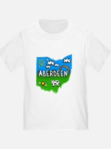 Aberdeen, Ohio. Kid Themed T