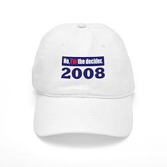 The Decider Baseball Cap