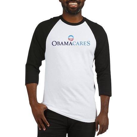 Obama Cares Baseball Jersey