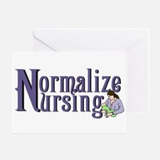 Normalize Nursing Greeting Card
