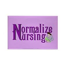 Normalize Nursing Rectangle Magnet