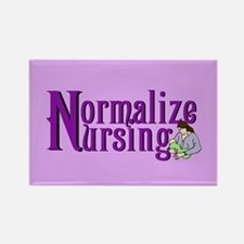 Normalize Nursing Rectangle Magnet