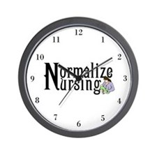 Normalize Nursing Wall Clock