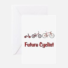 Future Cyclist Greeting Card