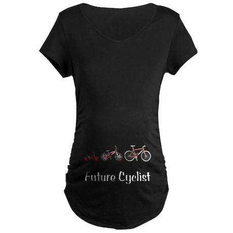 Future Cyclist Maternity Dark T-Shirt