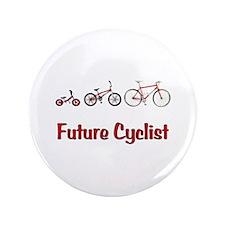 """Future Cyclist 3.5"""" Button"""