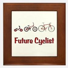 Future Cyclist Framed Tile