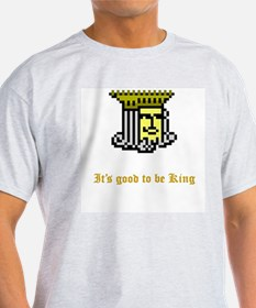 """It's good to be King"" Ash Grey T-Shirt"